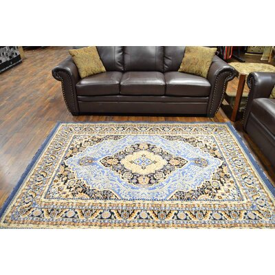 Riche Blue/Beige Area Rug