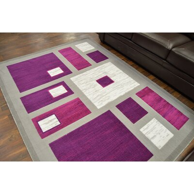 Costanza Purple/Gray Area Rug