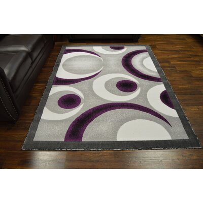 Coster Gray/Purple Area Rug