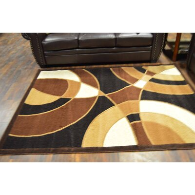 Cosper Black/Brown Area Rug