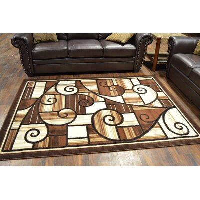 Cosper Brown Area Rug