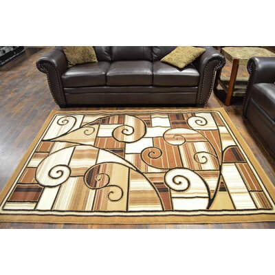 Cosper Beige/Brown Area Rug