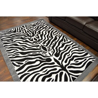 Patchen Black Area Rug