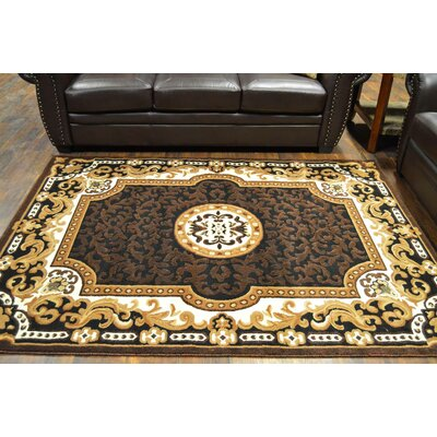 Riche Black/Beige Area Rug