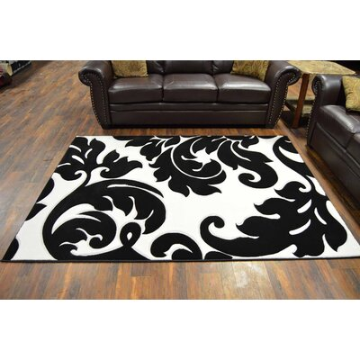 Cantin Black Area Rug