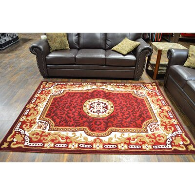 Riche Burgundy Area Rug