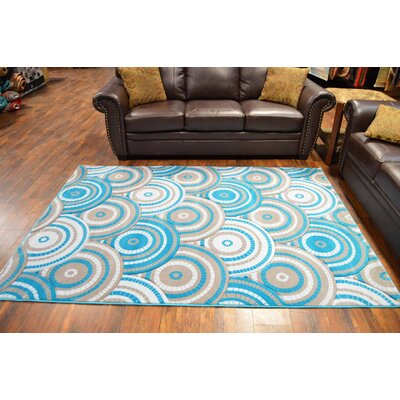 Maggard Turquoise Area Rug