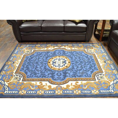 Riche Blue Area Rug