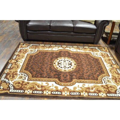 Riche Brown Area Rug