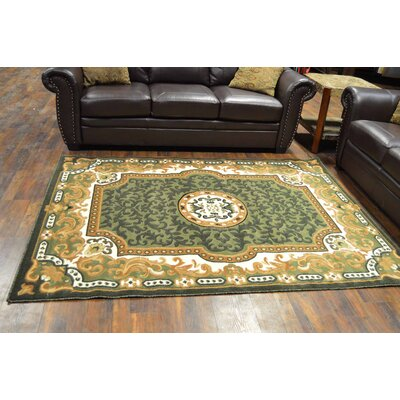 Riche Green Area Rug