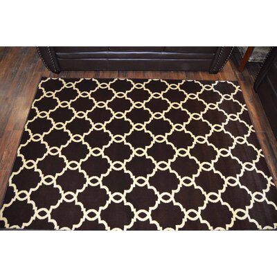 Mikels Brown Area Rug