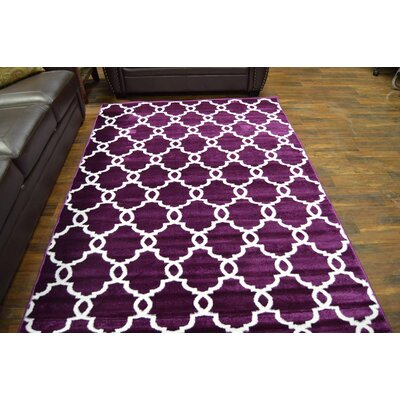 Mikels Purple Area Rug