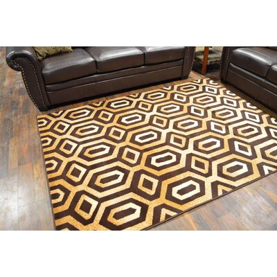 Hendershot Brown/Beige Area Rug