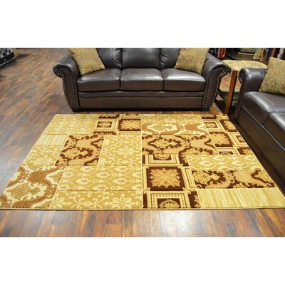 Riche Beige/Brown Area Rug