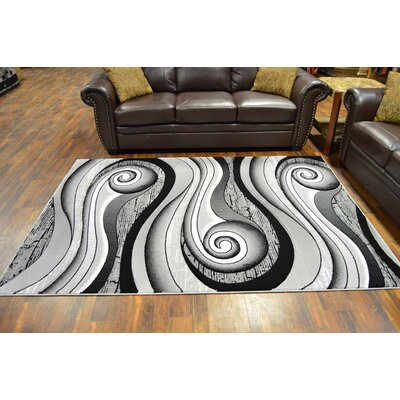 Maez Gray Area Rug