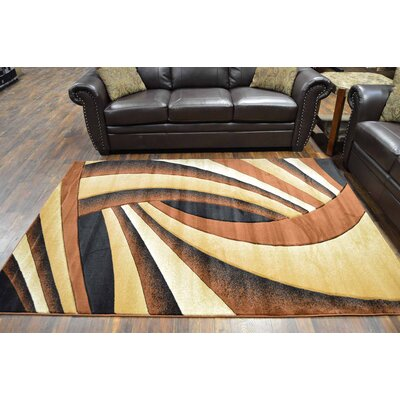 Maez Brown/Beige Area Rug