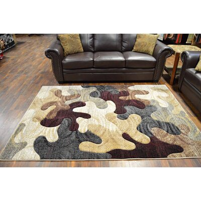 Magaw Beige/Gray Area Rug