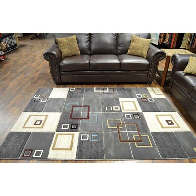 Siemens Gray/Cream Area Rug