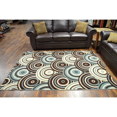 Magdaleno Blue/Brown Area Rug