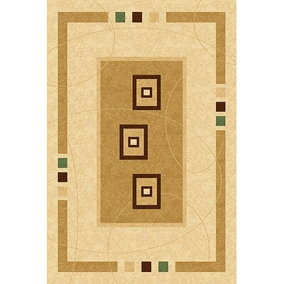 Mccampbell 3D Brown/Beige Area Rug Rug Size: Rectangle 2 x 4