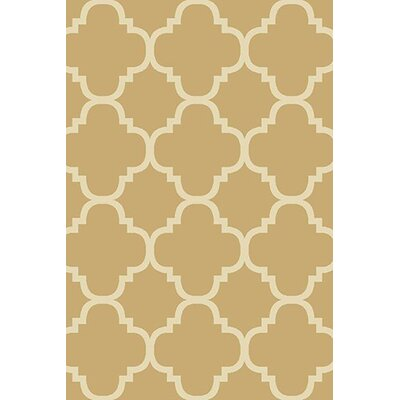 Mccampbell 3D Beige Area Rug Rug Size: Rectangle 8 x 11