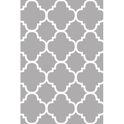Mccampbell 3D Gray/White Area Rug Rug Size: Rectangle 5 x 7