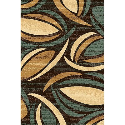 Mccampbell 3D Abstract Brown/Beige Area Rug Rug Size: Rectangle 5' x 7'
