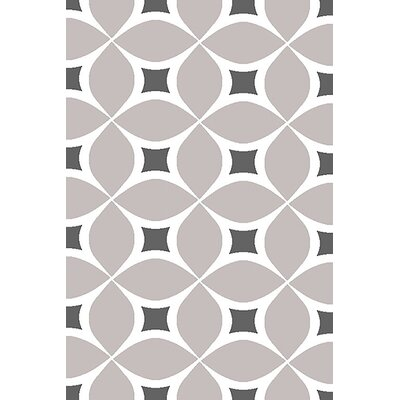 Mccampbell 3D Gray Area Rug Rug Size: Rectangle 2 x 4