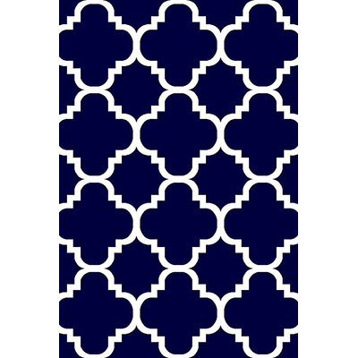 Mccampbell 3D Navy Area Rug Rug Size: Rectangle 2 x 4
