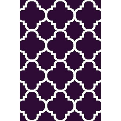 Mccampbell 3D Purple Area Rug Rug Size: Rectangle 8 x 11