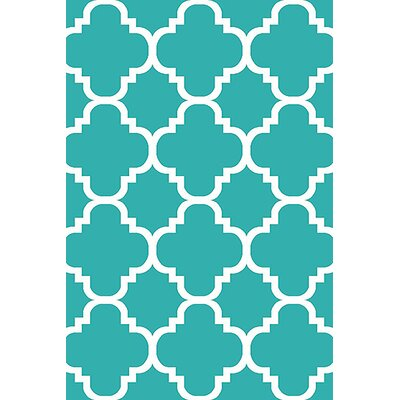 Mccampbell 3D Turquoise Area Rug Rug Size: Rectangle 5 x 7