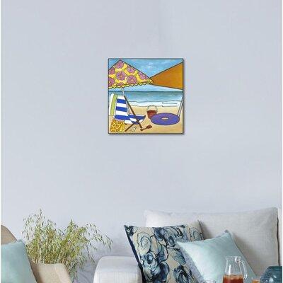 "'Endless Summer II' Graphic Art Print on Canvas Size: 13"" H x 13"" W x 1.5"" D ECC8341685F043339667B16A19A98554"