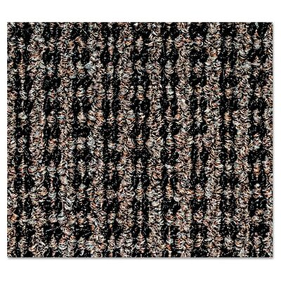 Oxford Doormat Mat Size: Rectangle 3 x 5, Color: Black/Brown