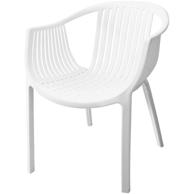 Comodo Dining Chair Color: White, Number Of Chairs: 4