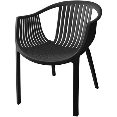 Comodo Dining Chair Color: Black, Number Of Chairs: 1