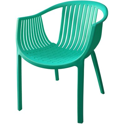 Comodo Dining Chair Color: Turquoise, Number Of Chairs: 4