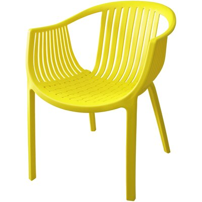Comodo Dining Chair Color: Yellow, Number Of Chairs: 1