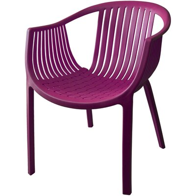 Comodo Dining Chair Color: Purple, Number Of Chairs: 4