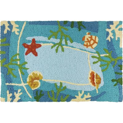 Caresse Underwater Coral and Starfish Doormat