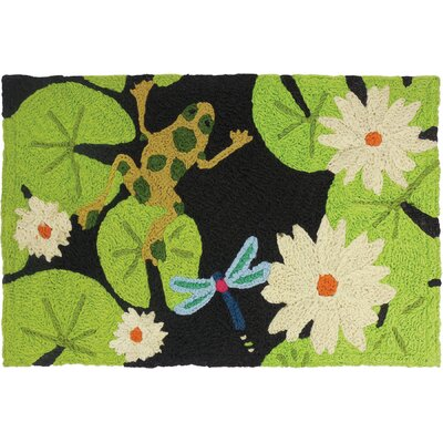 Isley Lily Pad and Frogs Doormat