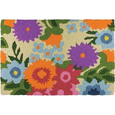 Isenhour Flowery Garden Doormat
