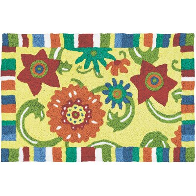Ishaan Fun Flowers Doormat