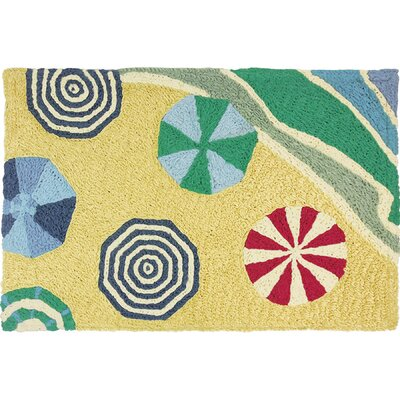 Blas Beachside Umbrellas Doormat