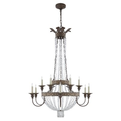 Lyon 12-Light Candle-Style Chandelier