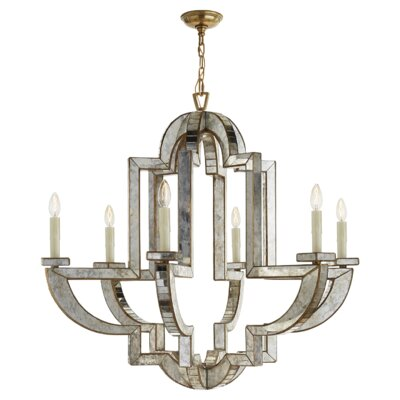 Lido 6-Light Candle-Style Chandelier