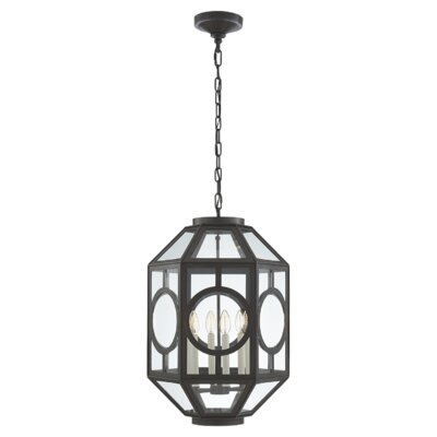 6-Light Lantern Pendant Finish: Aged Iron