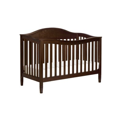 Laurel 4-in-1 Convertible Crib Finish: Espresso image