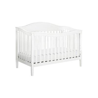 Laurel 4-in-1 Convertible Crib Finish: White image