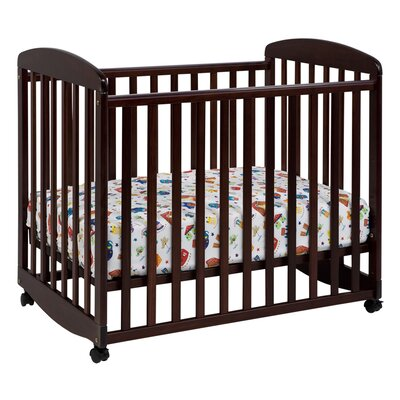 Alpha Mini Rocking Crib Finish: Cherry