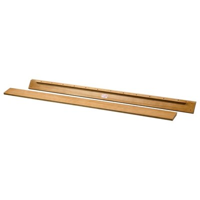 Furniamaze Webstore Wooden Bed Rails For Full Size Bed In Honey Oak